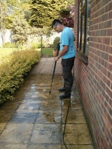 Patio cleaning Surrey and Hampshire