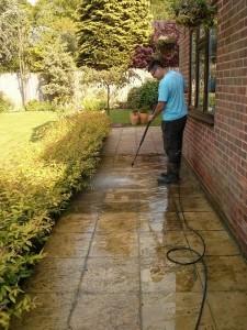 patio cleaning Godalming, Farncombe