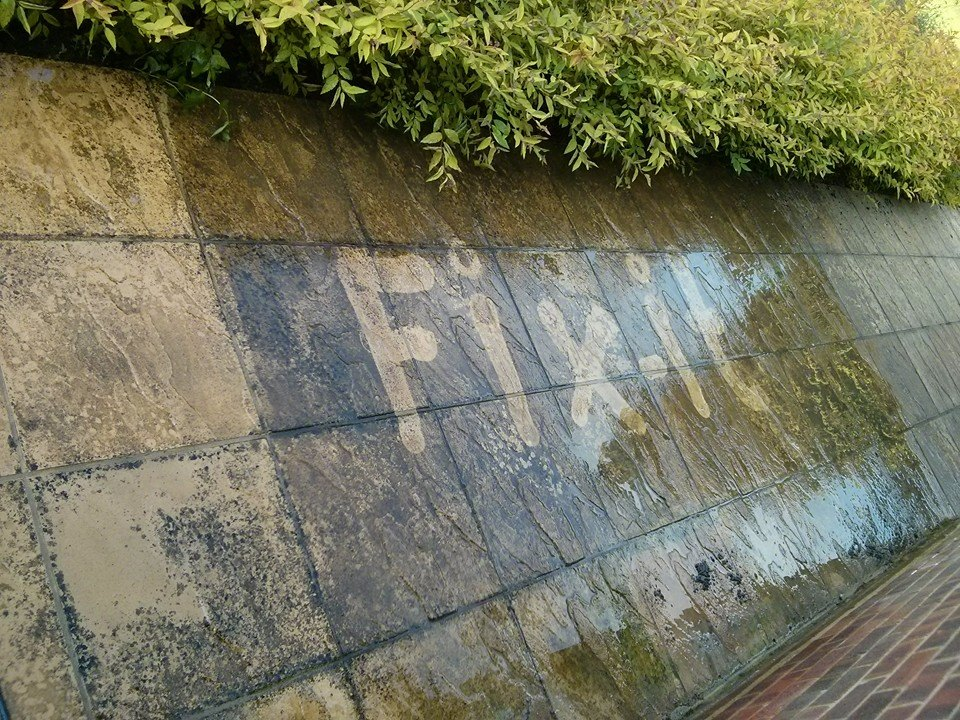 Patio cleaning Farncombe, Godalming