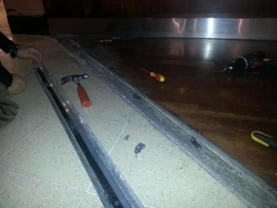 Repairing floor Guildford