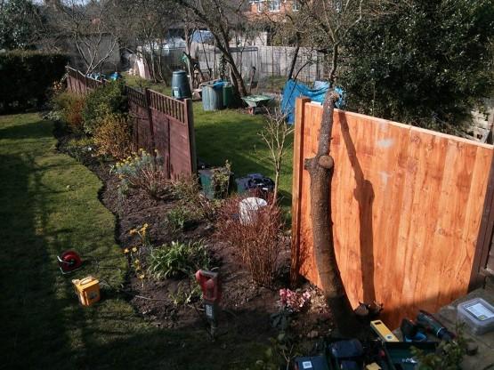 Fence building Godalming