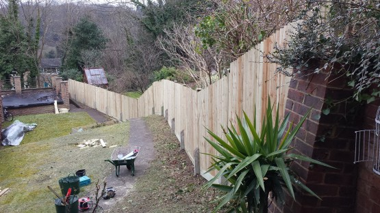 Fence building Surrey and Hampshire