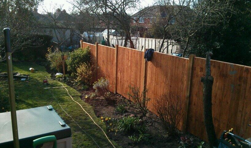 Fence building Godalming
