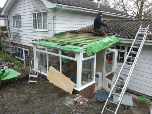 Roof repair Godalming, Surrey